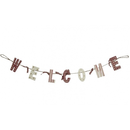 Wooden Welcome Nordic Garland