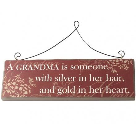 A Grandma Is....Sign