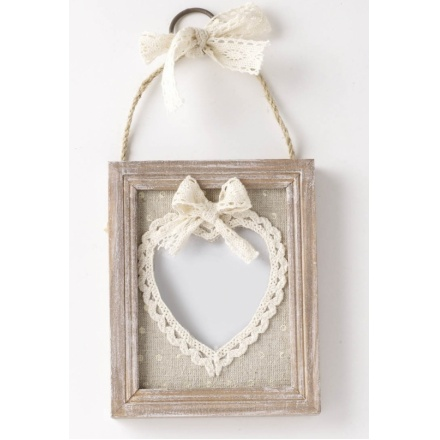 Hanging Heart Photo Frame