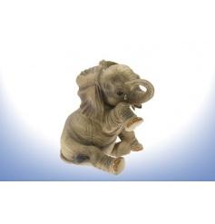 The classic figurine of an elephant with teardrop.H15cm