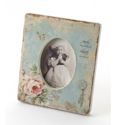 Gorgeous ornate shabby chic photo frame