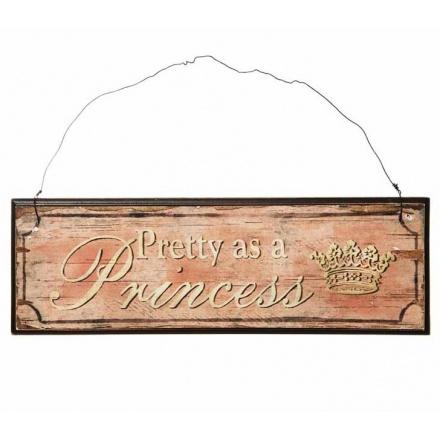Wood Sign Princess
