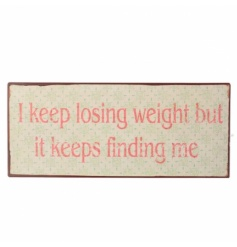 I Keep Losing Weight But It Keeps Finding Me
