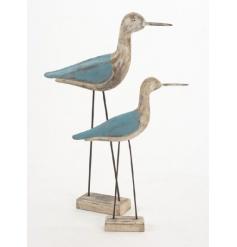 Large long leg sea bird ornament