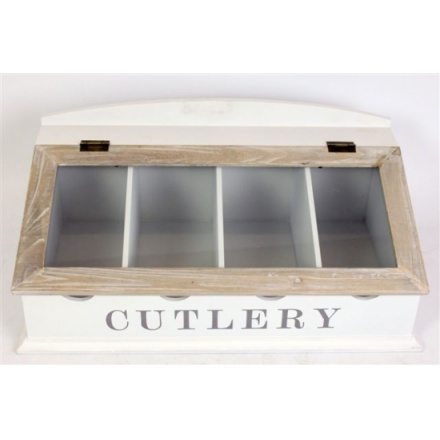 Two Tone Cutlery Box