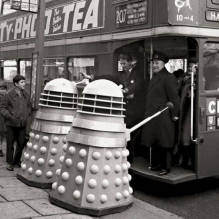 Dalek Day Trip Greeting Card