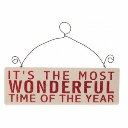 Its The Most Wonderful Time Sign
