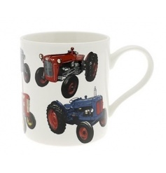 The Leonardo Collection tractor fine china mug