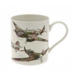 The Leonardo Collection classic plane fine china mug