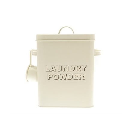 Home Sweet Cream Laundry Powder Box