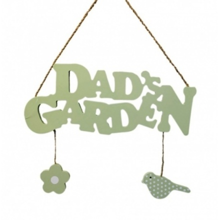 Dads Garden Plaque