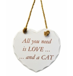All you need is love.....and a cat