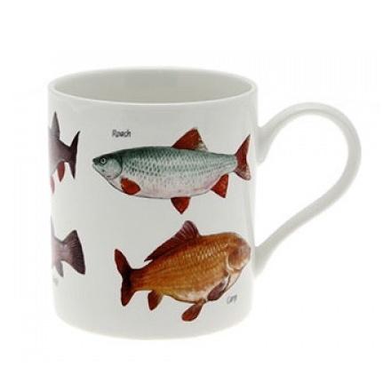 British Fish Fine China Mug