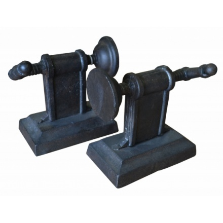 Cast Iron Vice Grip Bookends Set (2)