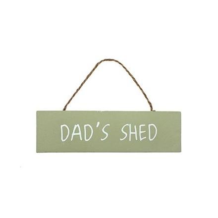 Secret Garden Plaque Dads Shed