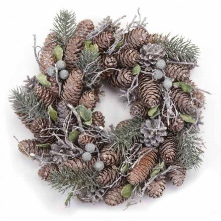 Pinecone Wreath 27cm
