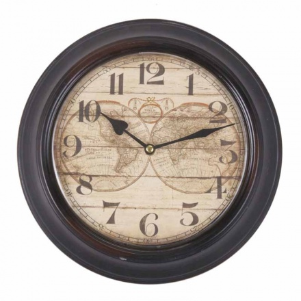 Large Atlas Wall Clock