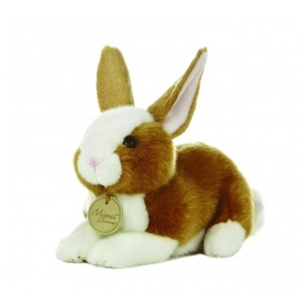 Miyoni Brown Bunny 8in Soft Toy