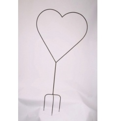 Stunning large metal garden stake ideal for displaying fairy lights or for climbing plants.