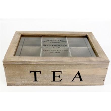 General Store Tea Box 24 x 17