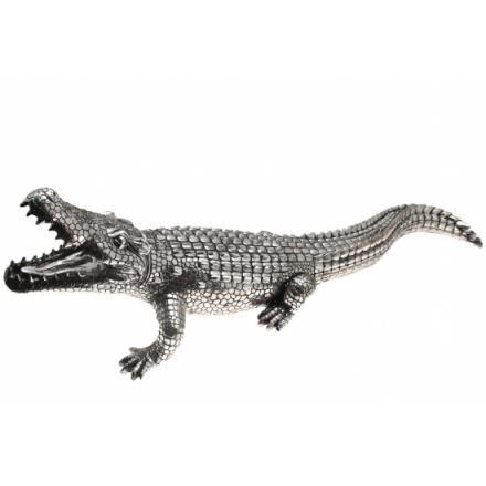 Silver Lifestyle Crocodile 96cm
