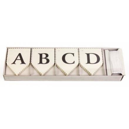 Alphabet Bunting DIY Pack 75