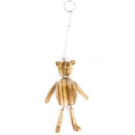 Wooden Spring Bear Hanger