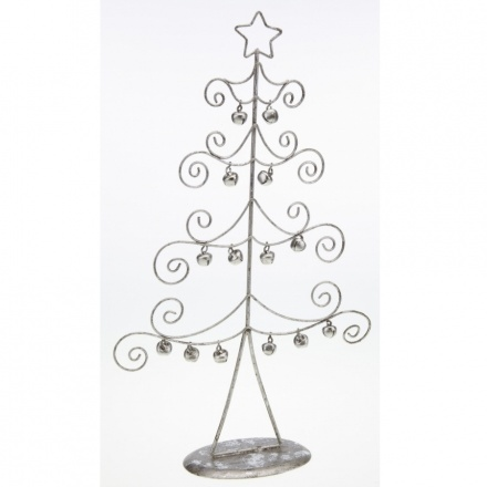 Curled Wire Tree With Bells