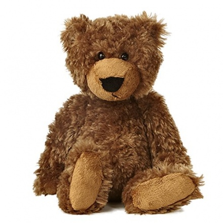 Slouchee Bear Dark Brown Soft Toy 8.5 in RRP £7.99
