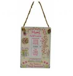 Sweet vintage sign from our new and exclusive mini dangler range