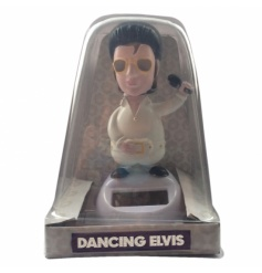 Add Elvis to your solar pal collection, a great novelty gift