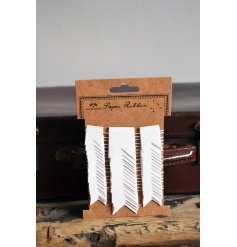 A pack of miniature paper bunting, perfect for tabletop decoration, wrap, gifts and more.