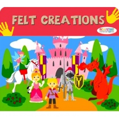 Create hours of fun with this felt castle play set, a great stocking filler and pocket money toy