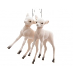Adorable baby flock reindeer decorations.