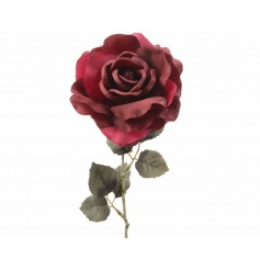 A beautiful silk rose ideal for a number of themes and occasions.
