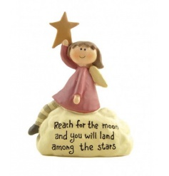 Sweet ornament by Heaven Sends with popular quote