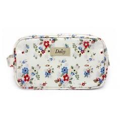 Small wash bag in a stylish Summer Daisy design