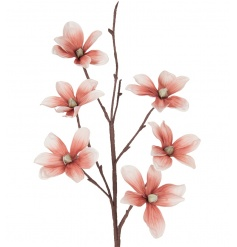 Chic artificial Magnolia stem in an eye catching colour