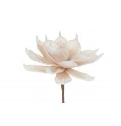 Cream coloured artificial Yucca flower
