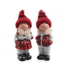 Festive standing children decorations for your Christmas displays