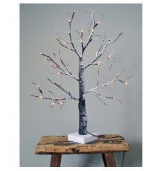 A superior quality LED light up tree for outdoor and indoor use, with mains plug.