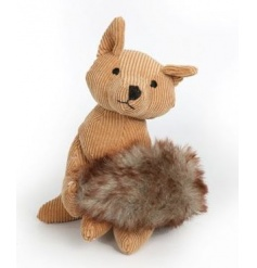 A fox style paperweight with a rustic style, soft to touch