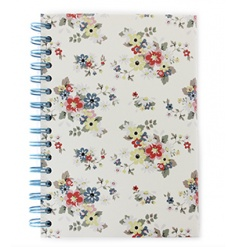 Stylish note book in a floral Summer Daisy design