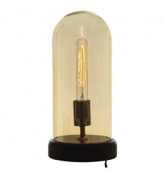 A small sized quirky, retro light dome, the ideal item to use as a statement piece within the home