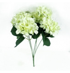 A beautiful, fine quality hydrangea bunch in white. Ideal for many themes, seasons and events.