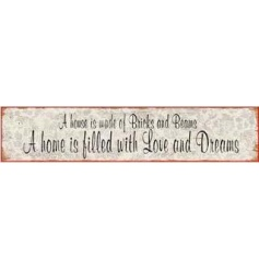 Decorative wooden Home sign by Heaven Sends