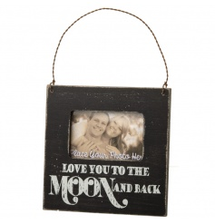Love You To The Moon Hanging Photo Frame