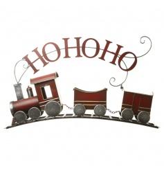 Ornamental Christmas train in a traditional design