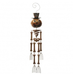 Quirky hanging pumpkin decoration by Heaven Sends