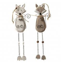 Cute hanging fix decorations in a mix of two